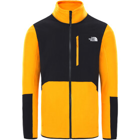 The North Face Glacier Pro FZ Jacket Herre summit gold/TNF black